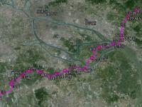 广州地铁7号线全线线路图(一期、二期及