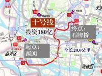 广州地铁10号线线路图及站点规划(2018