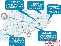 广东5个高速公路项目同日开工 起点和终