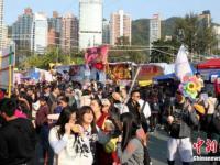 2017年香港维园年宵花市1月22日开幕