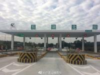 2017年12月5日广州机场高速北延线东湖北