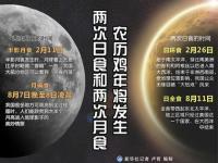 2017年日食和月食时间一览 鸡年将现两次