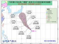 """2018年第13号台风""""珊珊""""最新路径图("""