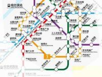 哈尔滨3号线二期的线路图