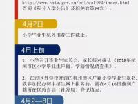 2018杭州各区县市中小学招生攻略汇总(