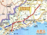 汕湛高速茂名段地图走向详情