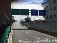 上海虹桥机场1号航站楼迎宾一路离场高架
