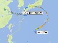 2018年12号台风云雀路径实时发布系统查