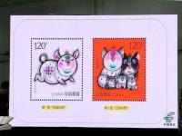 2019己亥猪年邮票开机印刷 2019年1月5日