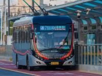 中运量71路虹桥机场T2线开通运营 ( 附