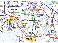 锡太高速公路规划图一览