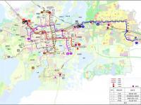苏州市城市轨道交通第三期建设规划图(