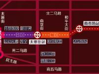 沈阳地铁一号线沈阳站站、太原街站出入