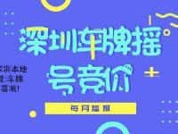 深圳2018年第7期车牌摇号竞价指标数量一