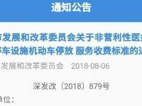 深圳医院停车最新收费标准正式公布 9月