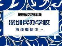 深圳各区民办学校学费收费标准汇总(持