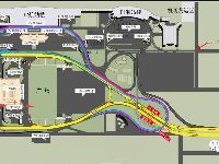 西安曲江线机场大巴乘车点