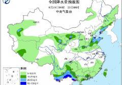 2016年8月19日未来三天全国天气预报:广西海南云南 山东辽宁吉林