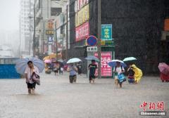 """2016年8月19日全国天气预报:台风""""电母""""加强为强热带风暴 广西"""