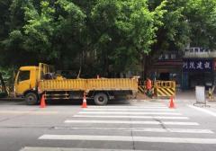2018广州大道北斯文井村口加建红绿灯 未来拟建人行天桥