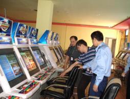 沈阳警方查处2家涉赌电子游艺厅