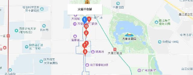 2019年12月5日起西安大唐不夜城不倒翁行爲藝術演出時間及地點調整