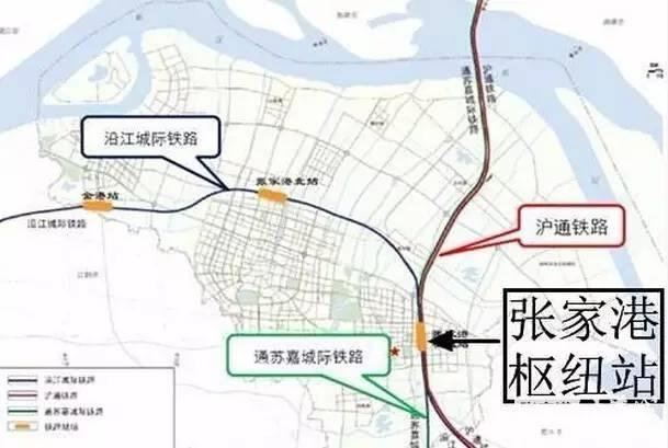 通苏嘉城际铁路简介(走向 线路图 站点)