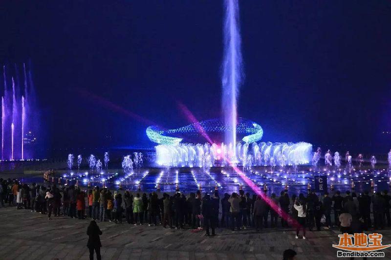 苏州湾音乐喷泉表演时间表