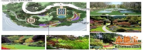 欧式绿篱花纹平面
