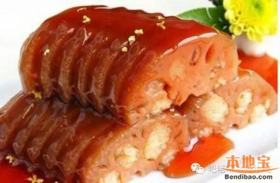 苏州小吃桂花糯米藕的做法