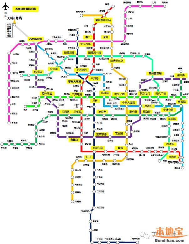 苏州将规划s1-s6共6条市域轨交线路 未来将有16条地铁图片
