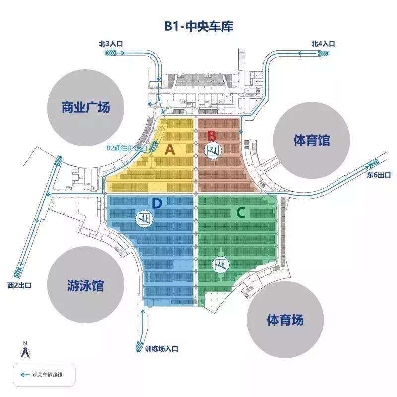 苏州奥体中心停车全攻略(出入口 车位分布 缴费方式)