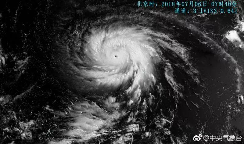 2018年第8号台风玛莉亚会登陆苏州吗?