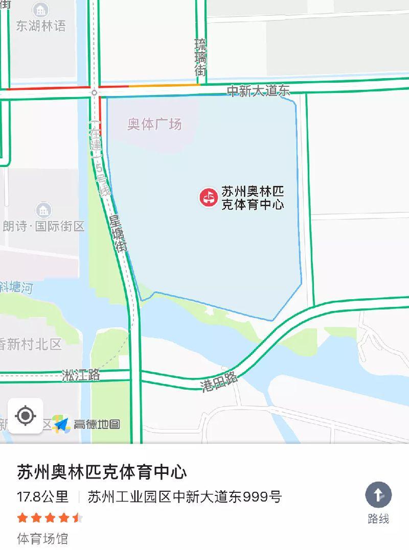 2018年张学友苏州演唱会地点(附交通指南)