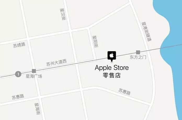 苏州Apple Store零售店地址(附交通指南)
