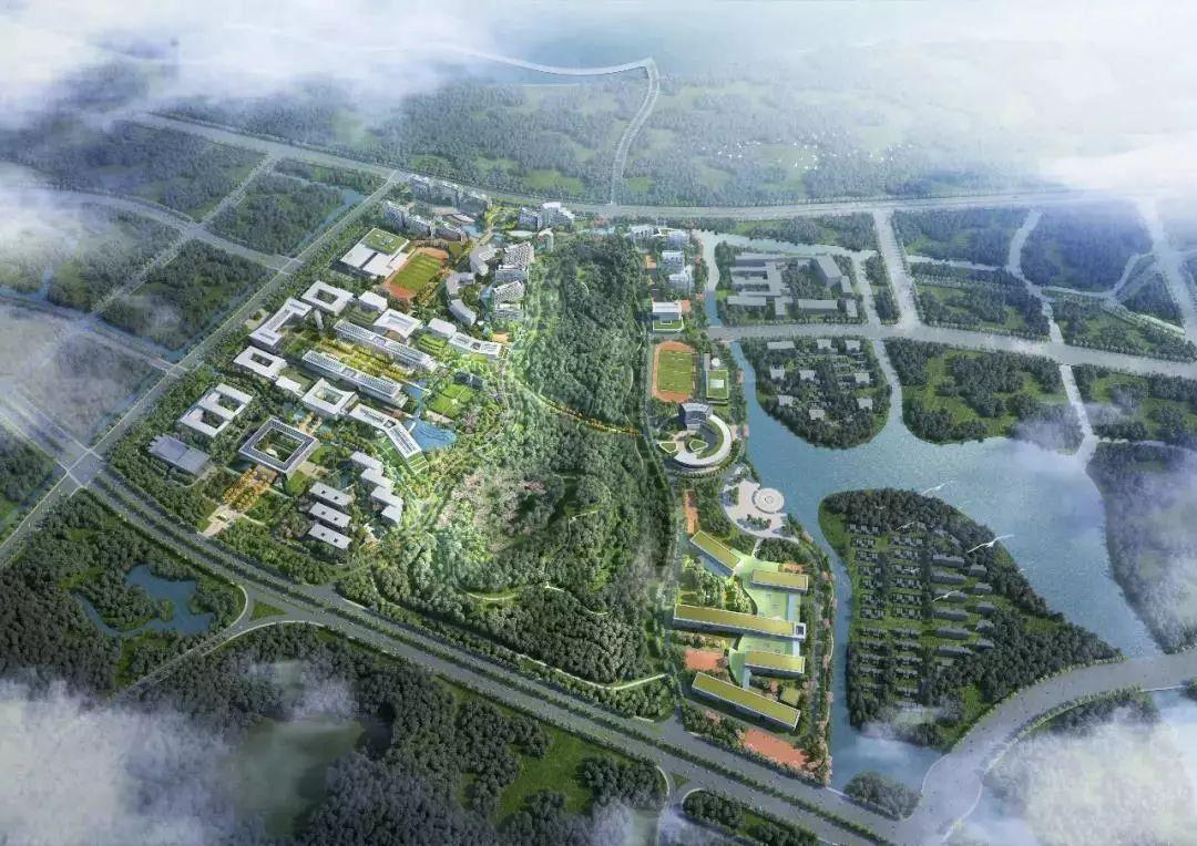 南京大学苏州校区设计方案(视频)