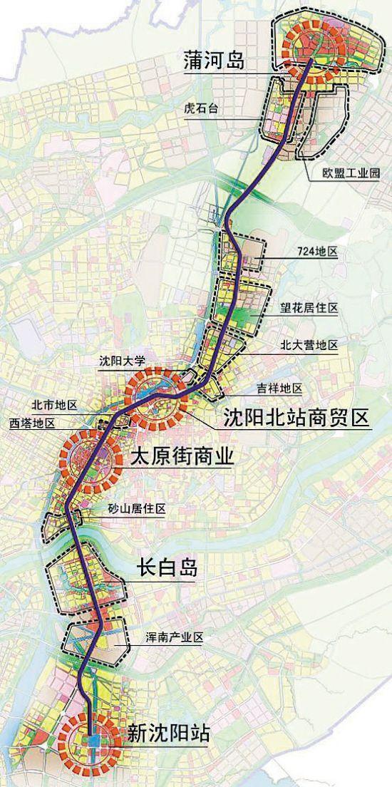 沈阳地铁4号线最新消息 线路图 站点 开通时间图片
