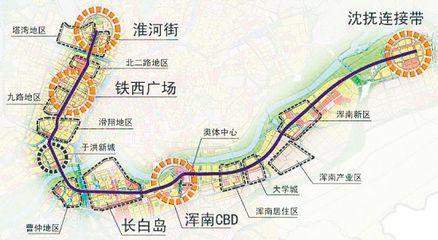 沈阳地铁九号线线路图图片