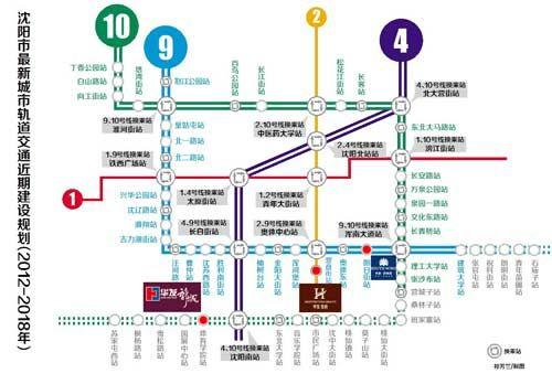 沈阳地铁九号线最新消息 线路图 站点 开通时间图片