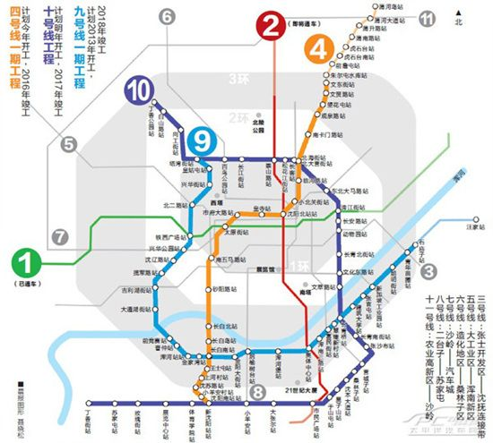 沈阳交通地铁公交高铁飞机城际铁路有轨电车交通资讯