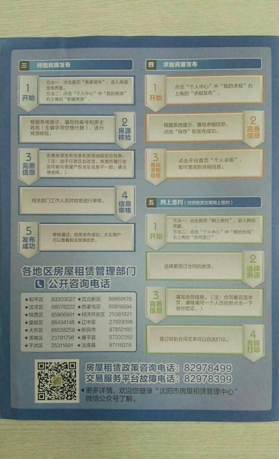 沈阳住房租赁服务平台操作指南