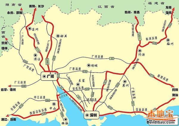 2016深圳中秋高速避堵指南(拥堵时间+路段+避堵线路)