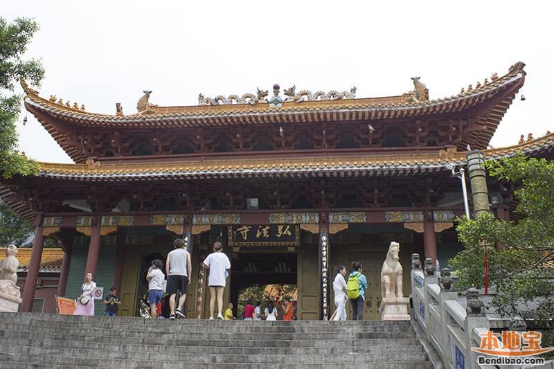 仙湖植物园-弘法寺