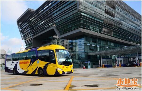 文锦渡口岸开通跨境巴士 深圳到香港上水10分钟