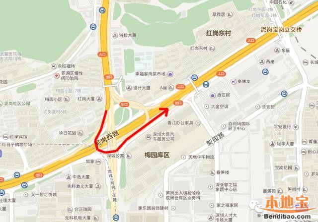 深圳玉平大道禁行大型车辆(路段+时间+绕行)