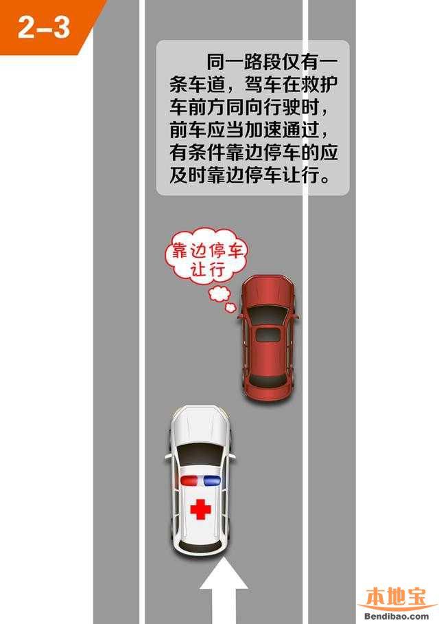 深圳避让急救车违章免罚 图解救护车正确避让方法