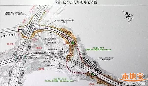 深圳红棉路再开通一路段 2018年将与沙荷路全线通车