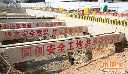 深圳地铁8号线一期或延至大梅沙 海山站开始主体施工