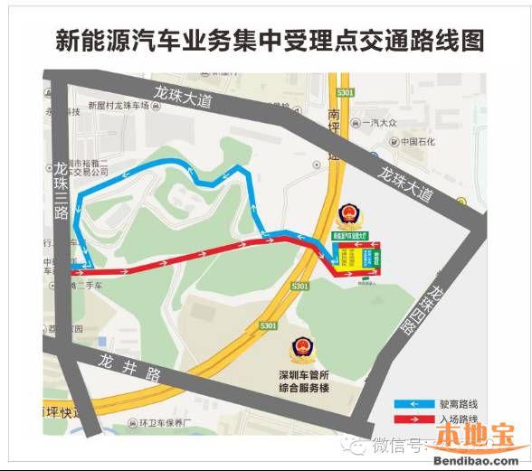 深圳新能源汽车车牌办理指南(地址+材料+流程)