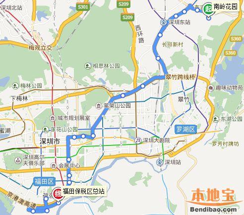 深圳公交高峰专线1取消 M476新增福报区站点